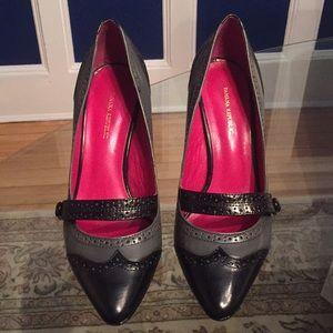 Banana republic black/gray. 3 1/2 inch heel size 6